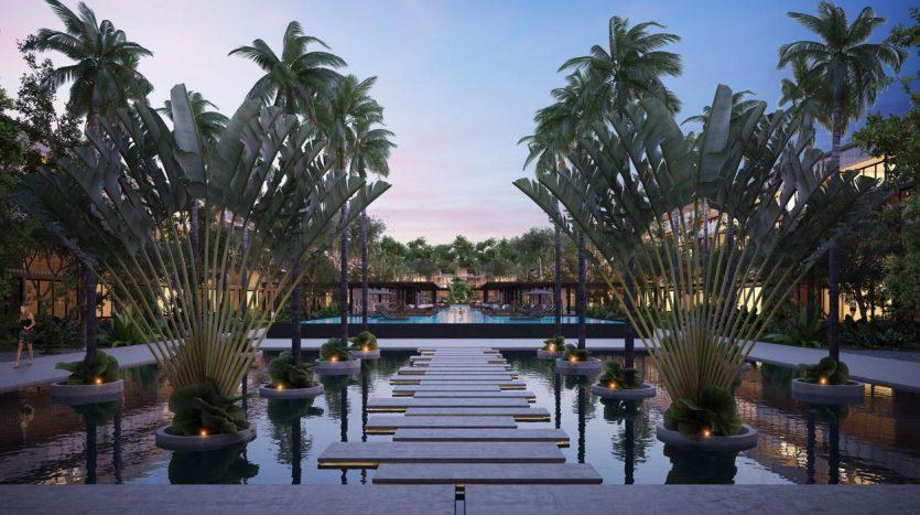awa residences playacar phase 2 2 bedroom penthouse 9