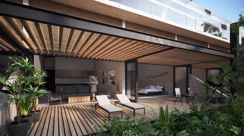 awa residences playacar phase 2 3 bedroom penthouse 1