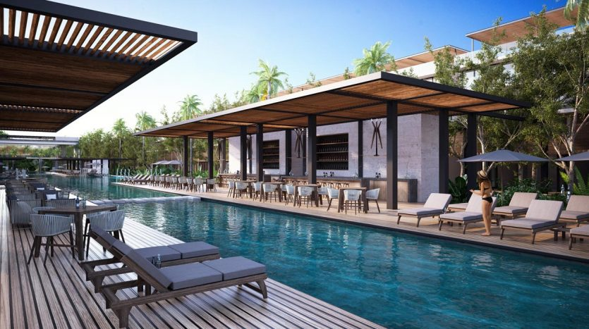 awa residences playacar phase 2 3 bedroom penthouse 11