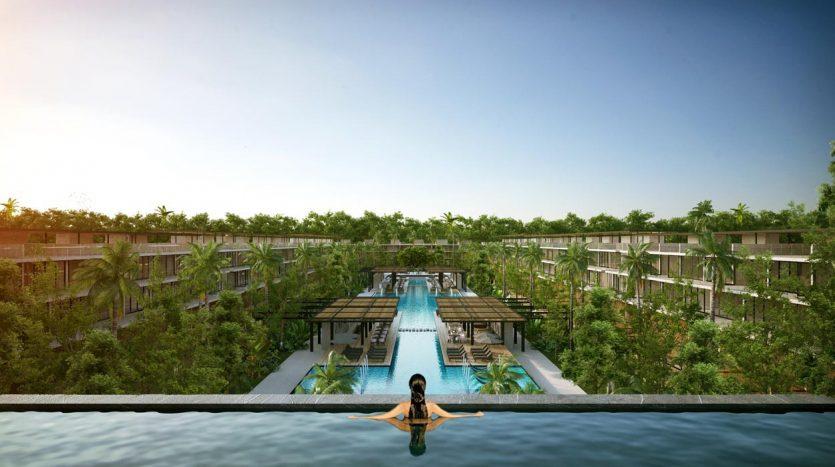 awa residences playacar phase 2 3 bedroom penthouse 3