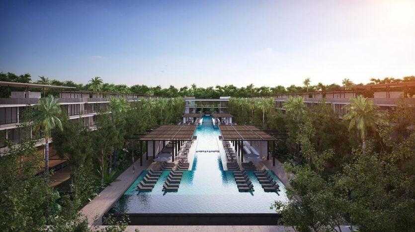 awa residences playacar phase 2 3 bedroom penthouse 4