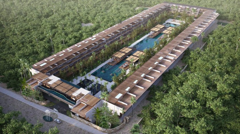 awa residences playacar phase 2 3 bedroom penthouse 7
