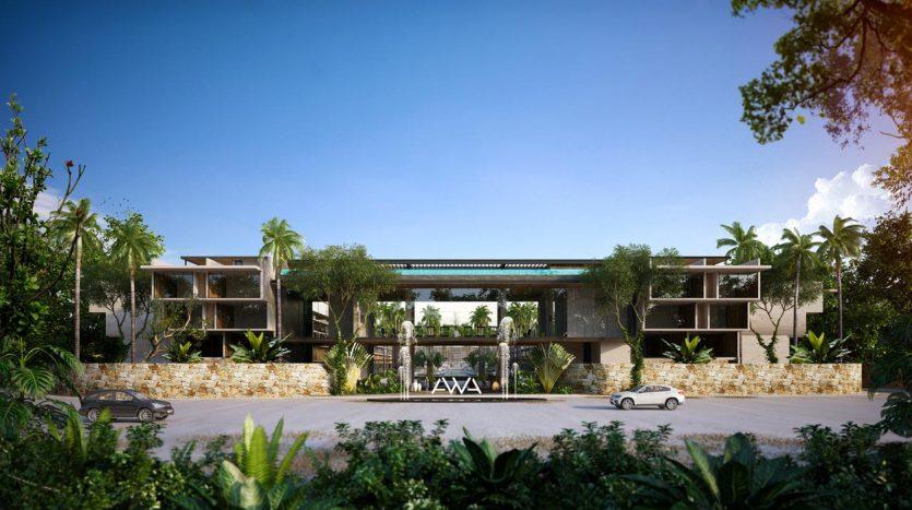 awa residences playacar phase 2 3 bedroom penthouse 8