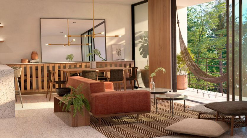 pure residences tulum 2 bedroom penthouse 14