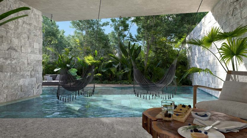 pure tulum new 3 bedroom condo 10 835x467 - Pure Residences 3 Bedroom Condo