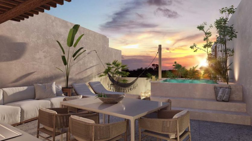 pure tulum new 3 bedroom condo 11 835x467 - Pure Residences 3 Bedroom Condo