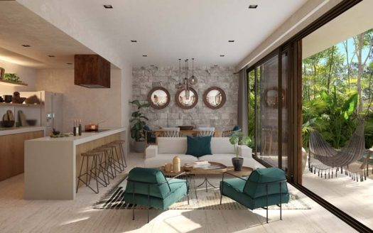 pure tulum new 3 bedroom condo 2 525x328 - Pure Residences 3 Bedroom Condo