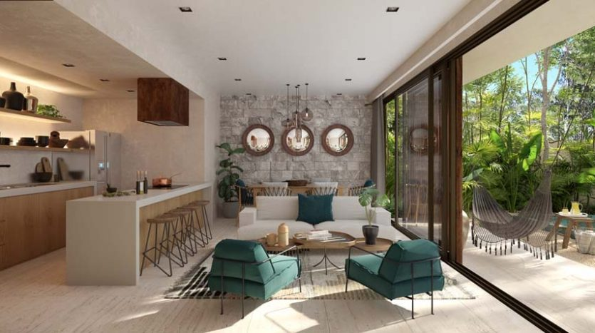 pure tulum new 3 bedroom condo 2 835x467 - Pure Residences 3 Bedroom Condo