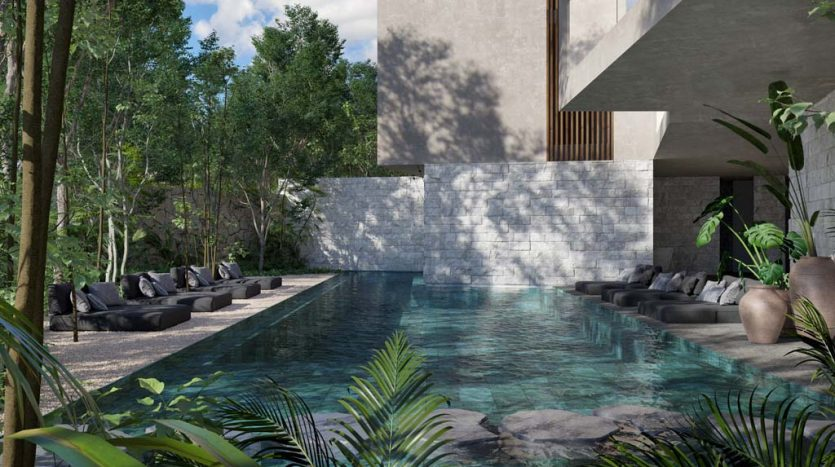 pure tulum new 3 bedroom condo 4 835x467 - Pure Residences 3 Bedroom Condo