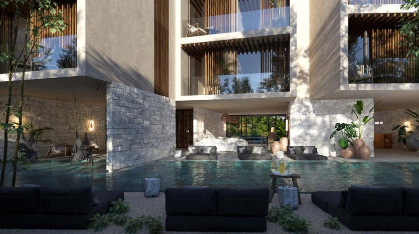 pure tulum new 3 bedroom condo 9 835x467 - Pure Residences 3 Bedroom Condo