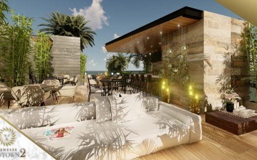 Menesse midtown 2 playa del carmen studio penthouse3