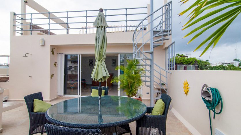 arco iris playa del carmen 3 bedroom penthouse 20