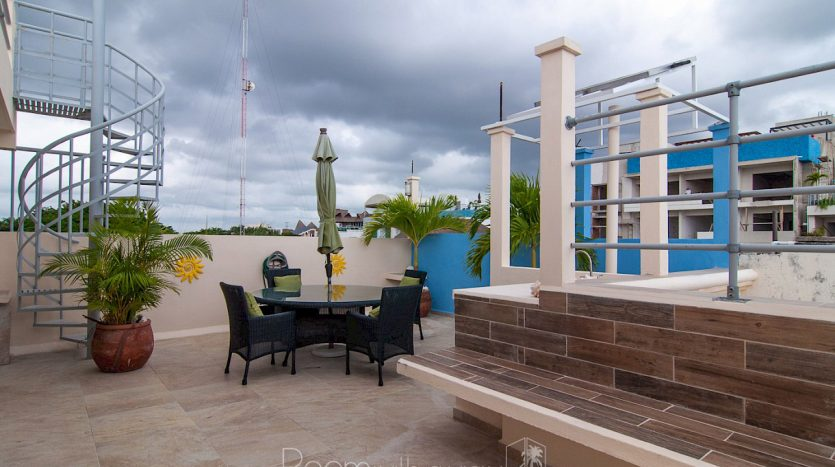 arco iris playa del carmen 3 bedroom penthouse 22