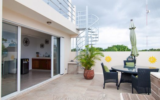 arco iris playa del carmen 3 bedroom penthouse 24