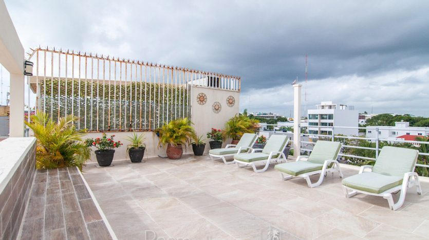 arco iris playa del carmen 3 bedroom penthouse 31