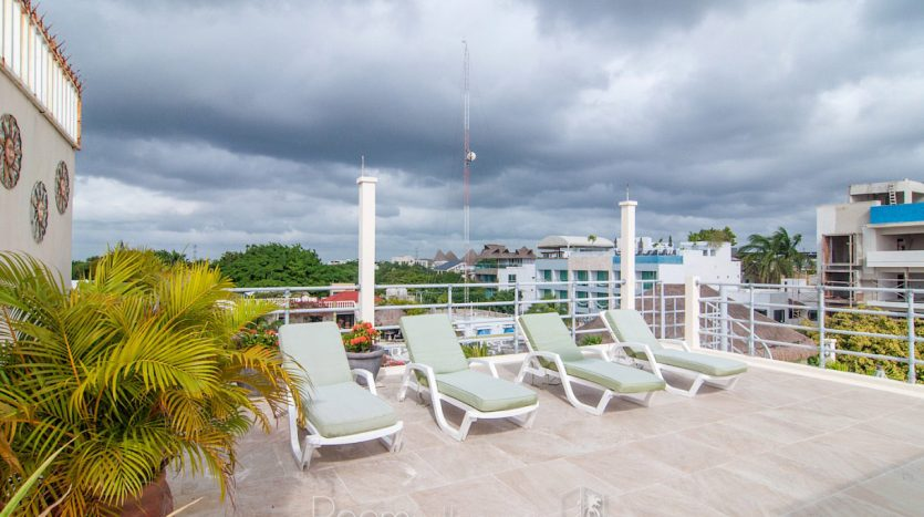arco iris playa del carmen 3 bedroom penthouse 32