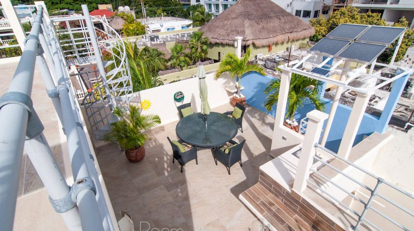 arco iris playa del carmen 3 bedroom penthouse 33