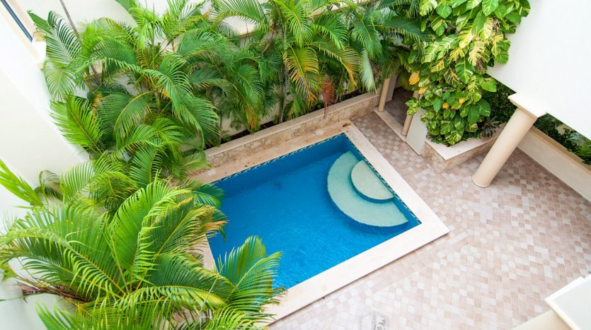 arco iris playa del carmen 3 bedroom penthouse 7