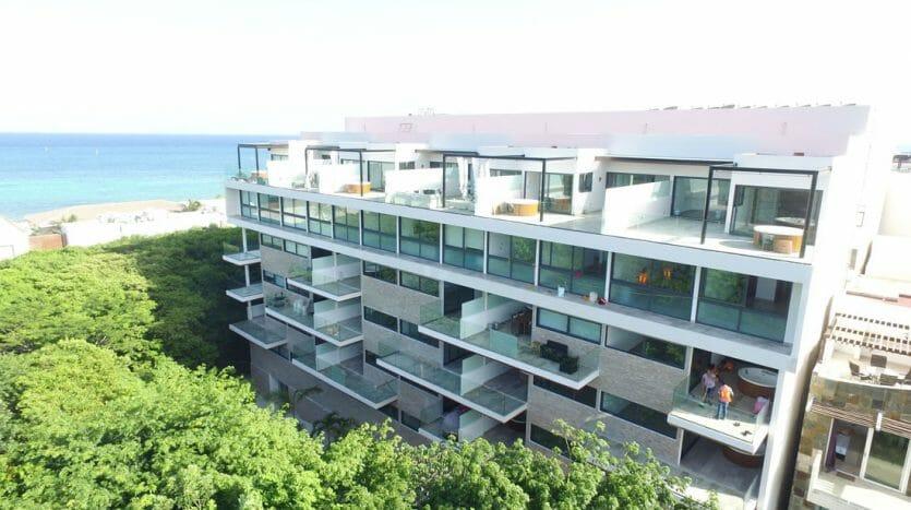 cruz con mar playa del carmen 1 bedroom condo 1 835x467 - Cruz Con Mar 1 Bedroom Condo