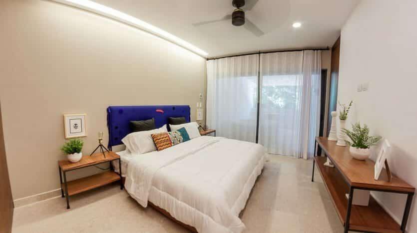 cruz con mar playa del carmen 1 bedroom condo 5 835x467 - Cruz Con Mar 1 Bedroom Condo