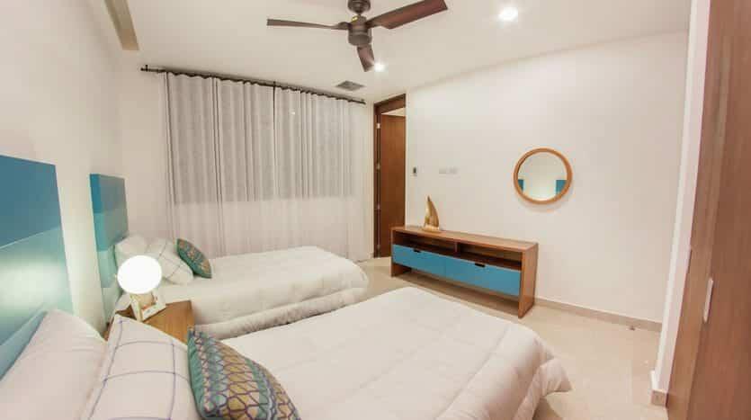 cruz con mar playa del carmen 2 bedroom condo 13 835x467 - Cruz Con Mar 2 Bedroom Condo