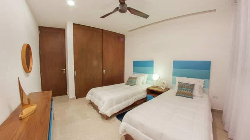 cruz con mar playa del carmen 2 bedroom condo 14 835x467 - Cruz Con Mar 2 Bedroom Condo
