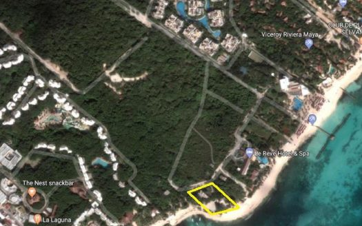 justmap 525x328 - Xcalacoco Beach Front Land