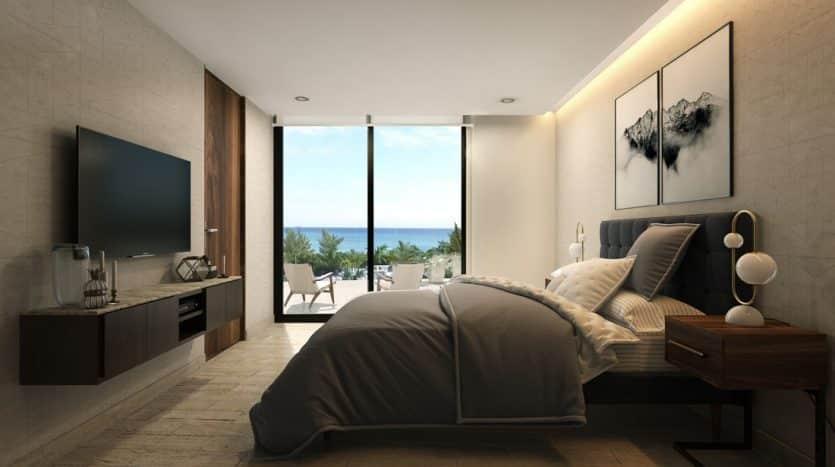 marila playa del carmen 3 bedroom penthouse 10 835x467 - Marila 3 Bedroom Penthouse