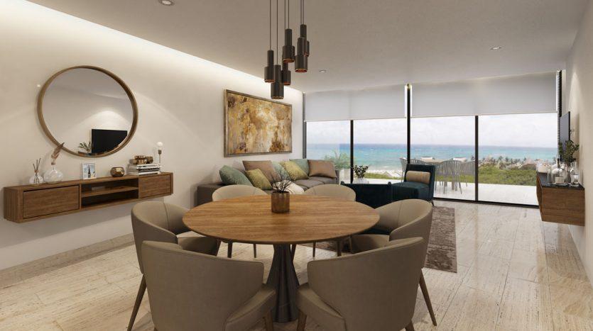 marila playa del carmen 3 bedroom penthouse 14 835x467 - Marila 3 Bedroom Penthouse