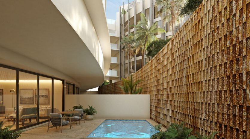 marila playa del carmen 3 bedroom penthouse 15 835x467 - Marila 3 Bedroom Penthouse