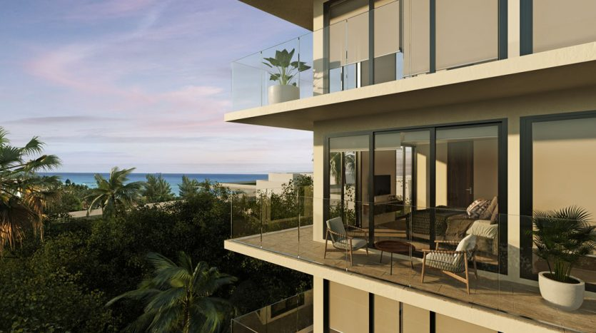 marila playa del carmen 3 bedroom penthouse 2 835x467 - Marila 3 Bedroom Penthouse