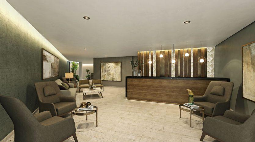 marila playa del carmen 3 bedroom penthouse 9 835x467 - Marila 3 Bedroom Penthouse
