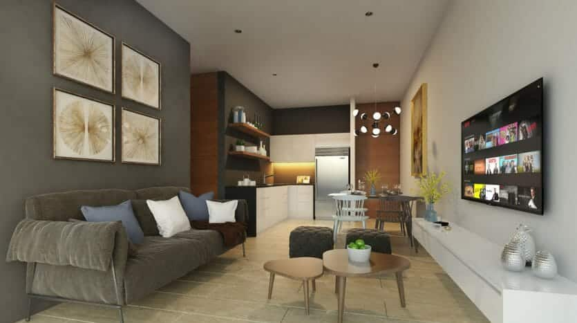 serenada playa del carmen 2 bedroom penthouse 4 835x467 - Serenada 2 Bedroom Penthouse