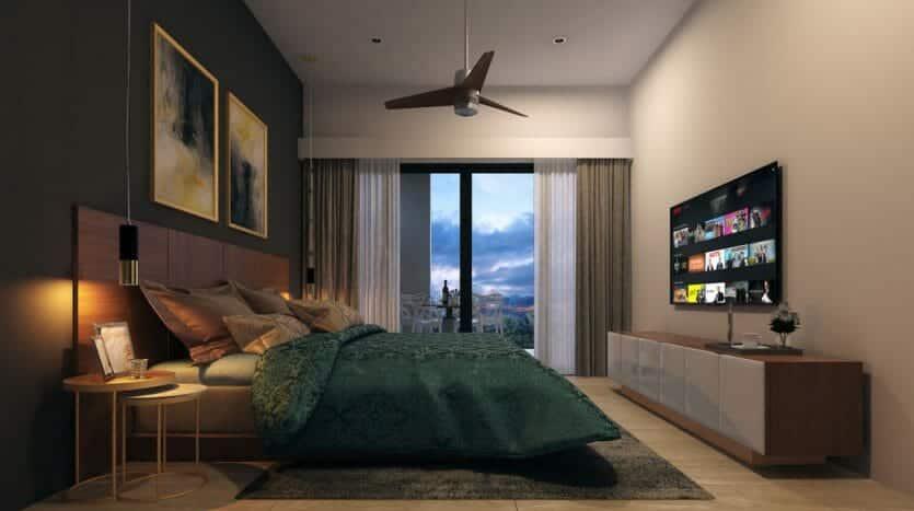 serenada playa del carmen 2 bedroom penthouse 8 835x467 - Serenada 2 Bedroom Penthouse