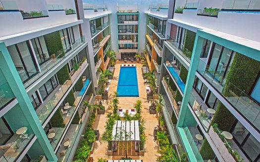 the city playa del carmen studio condo 1 525x328 - The City Studio Condo