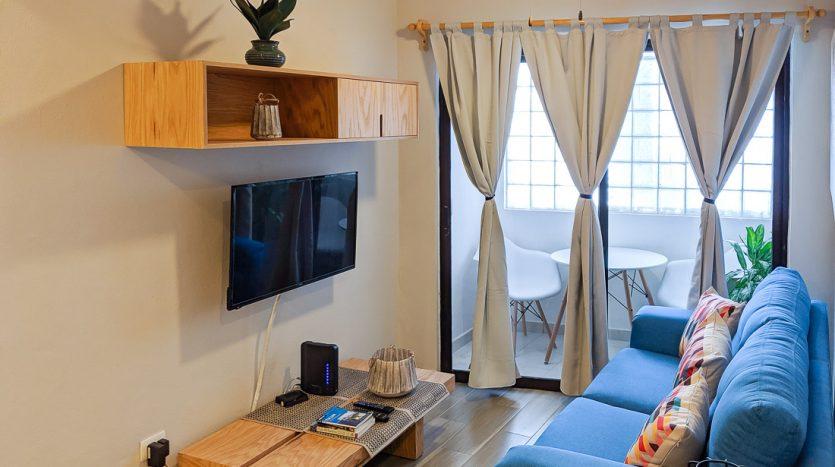 hacienda san jose c3 playa del carmen 2 bedroom condo  004 835x467 - Hacienda San Jose 1 Bedroom + Studio