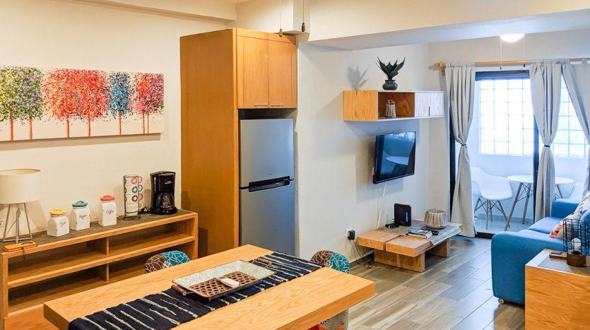 hacienda san jose c3 playa del carmen 2 bedroom condo  007 835x467 - Hacienda San Jose 1 Bedroom + Studio