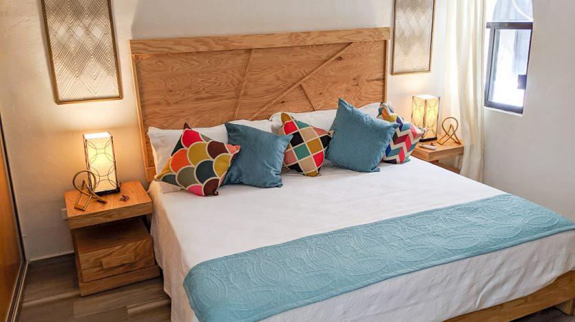 hacienda san jose c3 playa del carmen 2 bedroom condo  009 835x467 - Hacienda San Jose 1 Bedroom + Studio