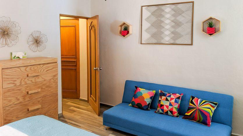 hacienda san jose c3 playa del carmen 2 bedroom condo  010 835x467 - Hacienda San Jose 1 Bedroom + Studio