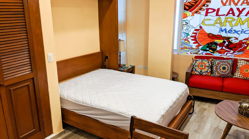 hacienda san jose c3 playa del carmen 2 bedroom condo  015 835x467 - Hacienda San Jose 1 Bedroom + Studio
