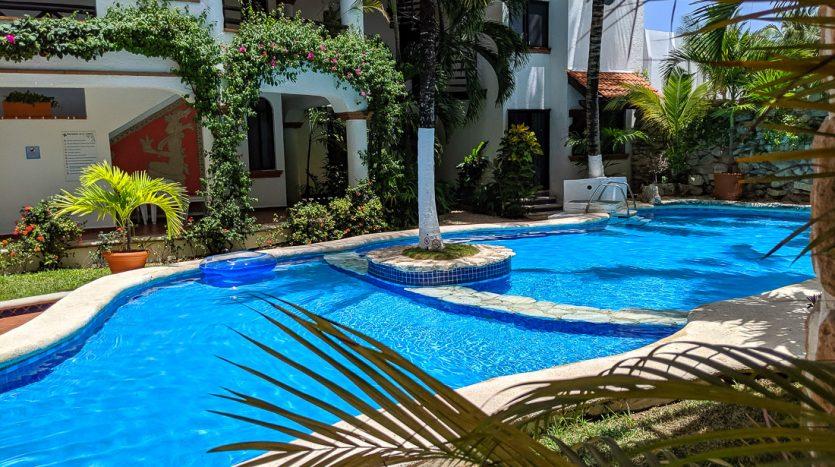 hacienda san jose c3 playa del carmen 2 bedroom condo  020 835x467 - Hacienda San Jose 1 Bedroom + Studio