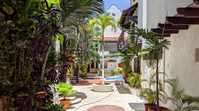 hacienda san jose c3 playa del carmen 2 bedroom condo  021 835x467 - Hacienda San Jose 1 Bedroom + Studio