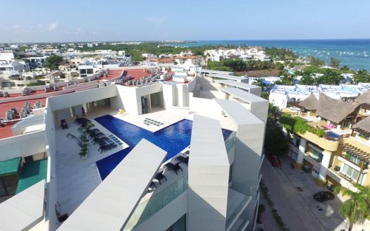 miranda playa del carmen new 3 bedroom penthouse 1 525x328 - Miranda 3 Bedroom Penthouse