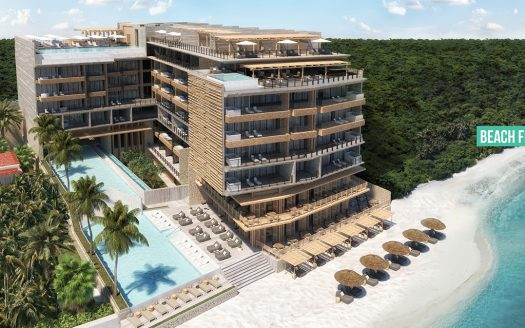 the fives ocean front puerto morelos 1 525x328 - The Fives Ocean Front