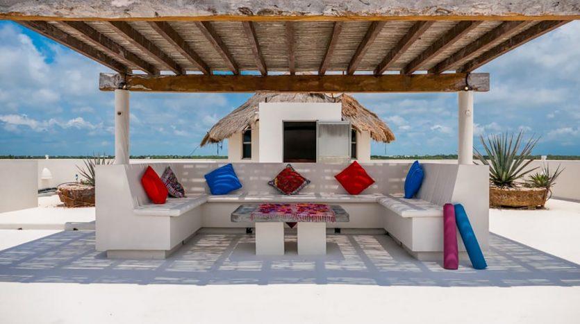 villa puerta azul beach front home akumal 10 835x467 - Villa Puerta Azul