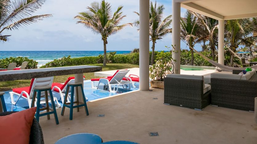 villa puerta azul beach front home akumal 15 835x467 - Villa Puerta Azul