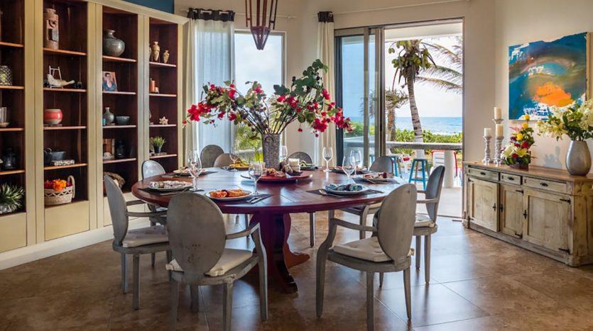 villa puerta azul beach front home akumal 16 835x467 - Villa Puerta Azul