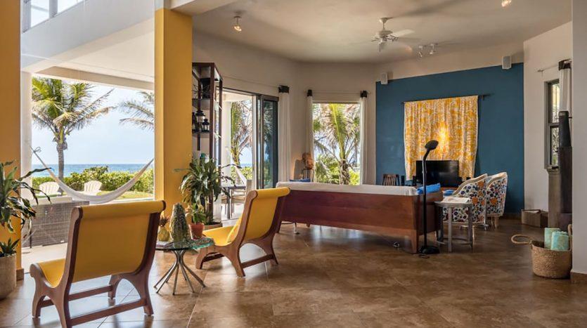 villa puerta azul beach front home akumal 20 835x467 - Villa Puerta Azul