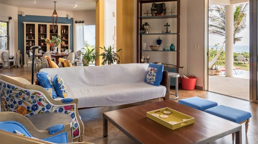 villa puerta azul beach front home akumal 21 835x467 - Villa Puerta Azul