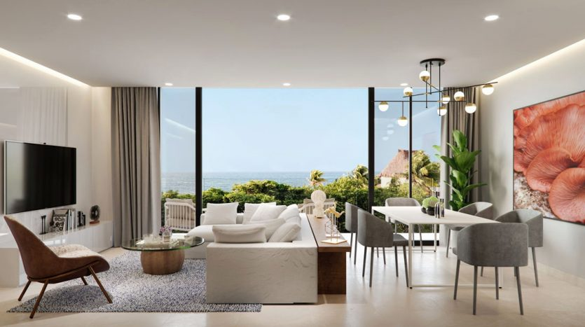 emma elissa playa del carmen 2 bedroom penthouse 10 835x467 - Emma & Elissa 2 Bedroom Penthouse